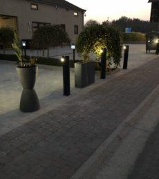 Bâtiment parking bas locataires nuit