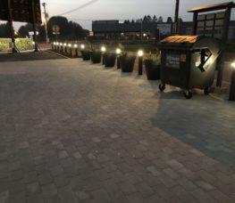 Bâtiment parking privé Façade